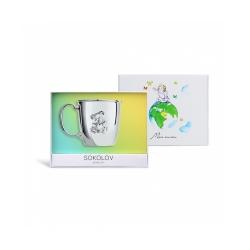 Ceașcă din argint SOKOLOV art 2301010033 2