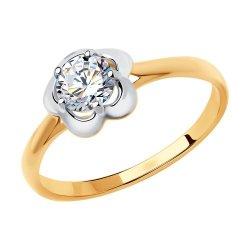 Inel de logodnă din aur SOKOLOV art 81010452 1